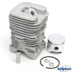 Cylindre pour tronconneuse Husqvarna 340, 345, 350. Diametre 44 mm