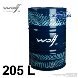 Huile Wolf 10W40. 205 litres.