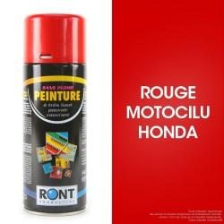 Bombe Peinture spéciale motoculture. Rouge Honda. 400 ml