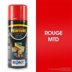 Bombe peinture spéciale motoculture. Rouge MTD/PBL. 400 ml