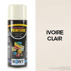 Bombe peinture spéciale motoculture. Ivoire clair. 400 ml.