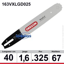 Guide 163VXLGD025 OREGON Pro-Lite D025. 40 cm