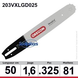 Guide 203VXLGD025 OREGON Pro-lite D025. 50 cm