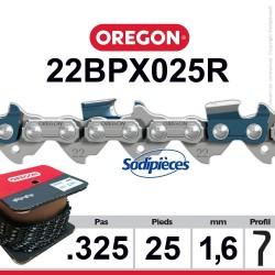 """Chaîne 22BPX025R OREGON. 325"""". 1,6mm. 25 pieds"""