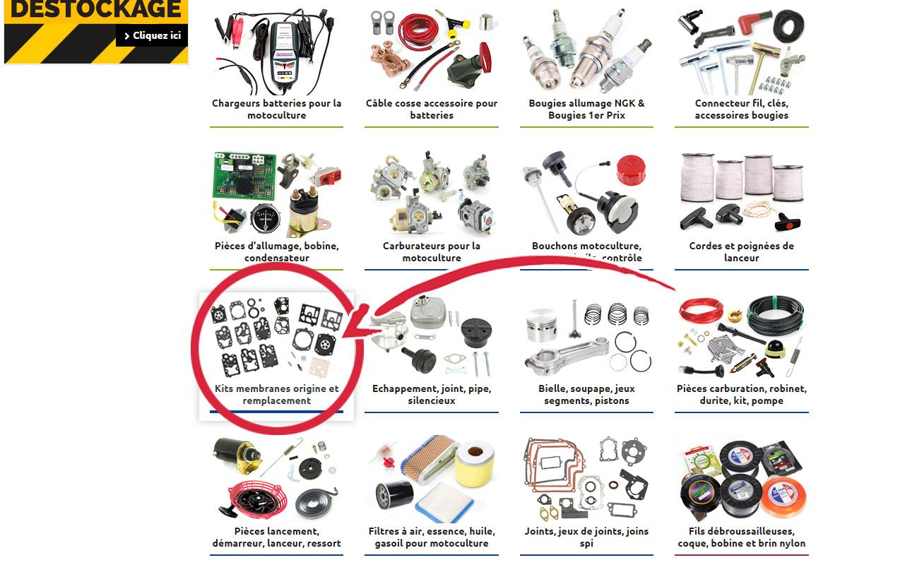 Trouver Votre Kit Membrane Sodipieces